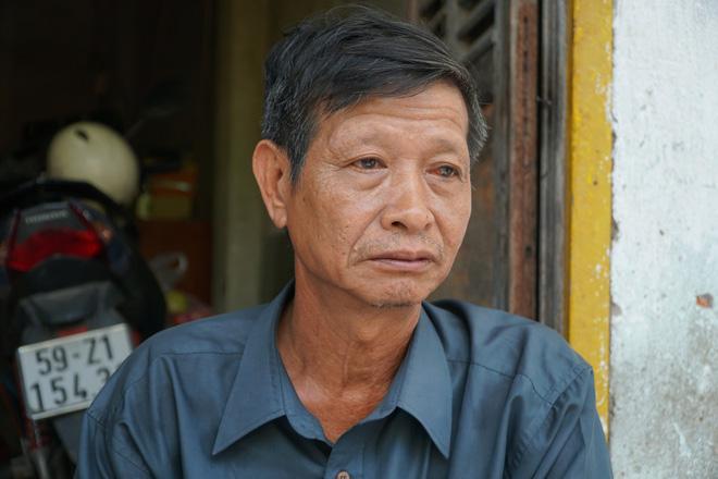 Ông Trương Tất Phát chia sẻ sự việc với PV.
