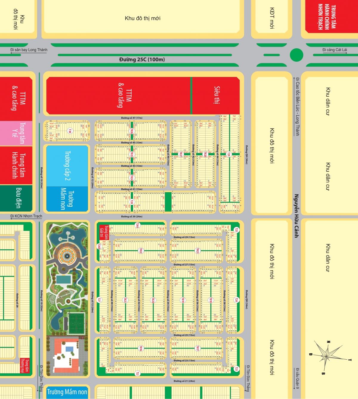 Dự án Mega City - Quy hoạch