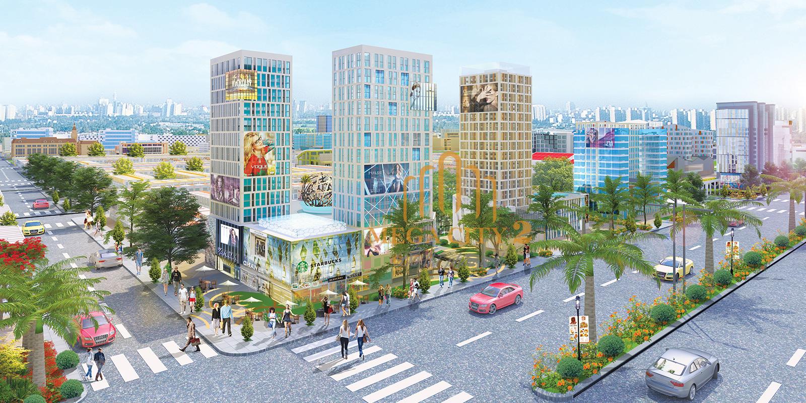 Dự án Mega City - Trung tâm thương mại