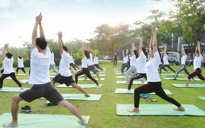 Tập Yoga ở PhoDong Village